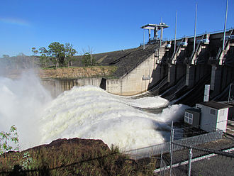 Wivenhoe Dam - The dam is used to mitigate floods and provide drinking water