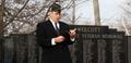 Wolcott, Indiana - Veterans Day 2011 speaker.png