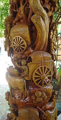 Woodcarving in Thai temple.JPG