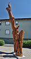 Wooden sculpture 01 by Jozsef Balint, Hundsheim.jpg