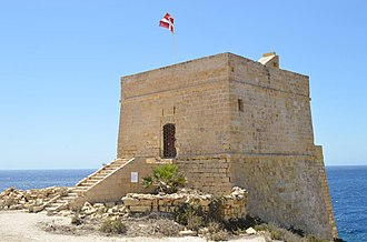 Xlendi Tower - View of Xlendi Tower