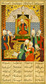 Yar Muhammad al-Haravi - Alexander the Great and the Seven Philosophers, Including Aristotle, Socrates, and Plato - Walters W609372A - miniature.jpg