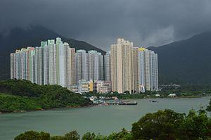 Public housing estates on Lantau Island - Yat Tung Estate