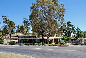Shire of Murrindindi - Council service centre and library in Yea