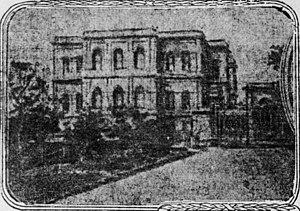 Yıldız Palace - 1909 view of Yıldız Palace