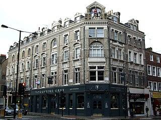 The Yorkshire Grey pub in Bloomsbury, London