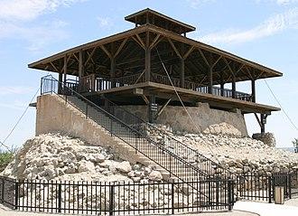 Yuma Territorial Prison - Image: Yuma prison main guard tower