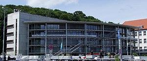 German National Library of Economics - ZBW main building in Kiel