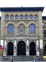 Antigua Facultad de Medicina de Zaragoza en la que Amparo Poch estudió Medicina entre 1922 y 1929.