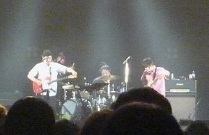 Zazen Boys - Performing live at the end of 2011