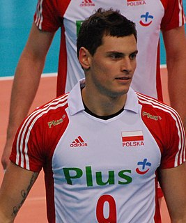 Zbigniew Bartman Polish volleyball player