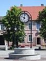 Zegar na Rynku w Suchaniu.JPG