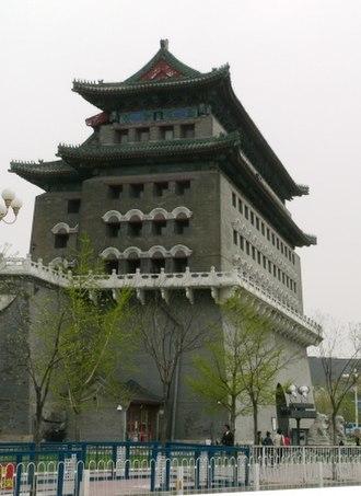 Beijing city fortifications - Zhengyangmen watchtower