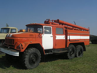 Russian State Fire Service - Zil-131 based АЦ-2,5-40(131Н)-6ВР