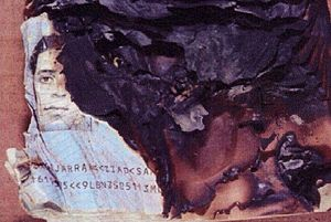 Ziad Jarrah - Charred passport found among the wreckage of Flight 93