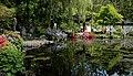 Zicht op vijver. Locatie, Chinese tuin Het Verborgen Rijk van Ming in de (Hortus Haren Groningen).JPG