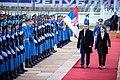 Zoran Zaev & Ana Brnabić (official visit to Serbia, 21.11.2017).jpg