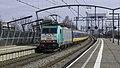 Zwijndrecht NMBS 2804 (E186 196) IC 9239 Brussel-Zuid-Den Haag HS 2803 (E186 125) (26048808657).jpg