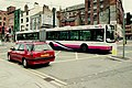 """First"" Volvo B10LA articulated bus in Shudehill - geograph.org.uk - 1575151.jpg"