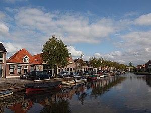 De Fryske Marren - Canal through Joure