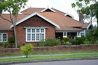 Thornleigh, New South Wales - Federation style home, Station Street
