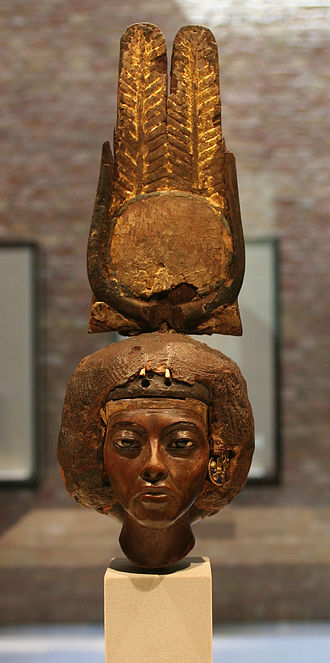 Tiye - Bust of Tiye, now in the Ägyptisches Museum in Berlin, Germany