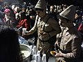 Çanakkale'deki Osmanlı askerleri öğünü, 2015 anma töreni.jpg