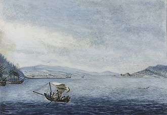 Abydos (Hellespont) - View of the straits at Abydos.