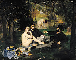 lunch on the grass - Manet