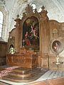 Église Notre-Dame de l'Annonciation d'Allonne autel 1.JPG