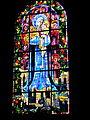 Église Saint-Léonard de Reffuveille - Vitrail.JPG