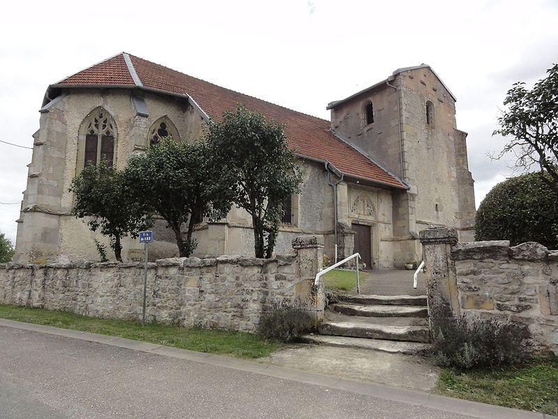 Église Saint Mansuy d'Érize-la-Brûlée