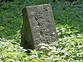 Łódź-damaged, monumental grave at Old Cemetery.jpg