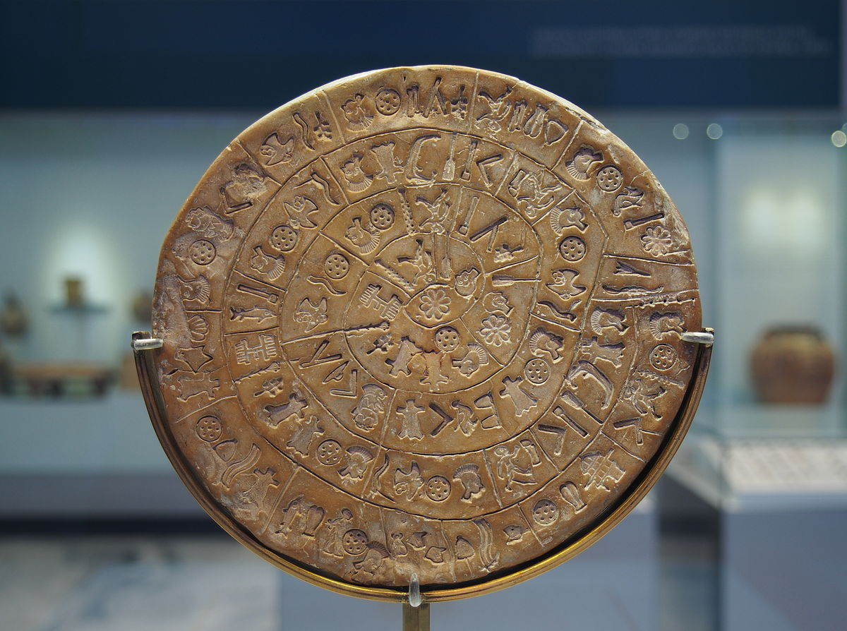 Image result for phaistos disc
