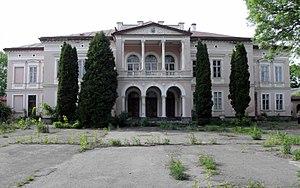 Alice Habsburg - The Badeni palace in Busk (present-day Ukraine), where Alice Habsburg spent time during both the Polish–Ukrainian and Polish-Soviet War