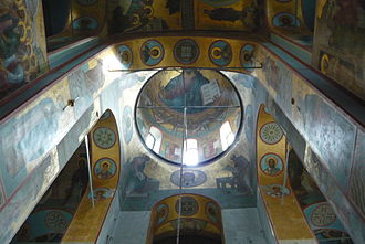 Yuriev Monastery - The katholikon has retained few traces of its original 12th-century wall paintings