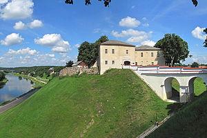 Old Grodno Castle - Bathory's Castle in Grodno, Belarus.