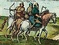 Дети боярские XVI в. Раскрашенная гравюра.jpg