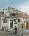 Золотая Роза (синагога). Художник Альфред Каменобродский (1844-1922).jpg