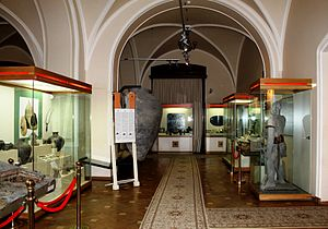 National Museum of History of Azerbaijan - Museum's exposition