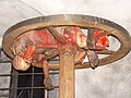 Колесование. Музей восковых фигур замка Локет (Loket) Чехия.jpg