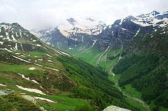 Upper Reka - Korab Mountains and Dlaboka river valley