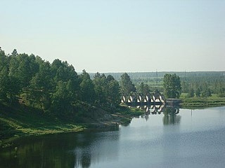 Magdagachinsky District District in Amur Oblast, Russia