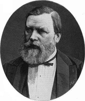 Pavel Ivanovich Melnikov - Portrait by Pyotr Borel