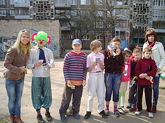 Demographics of Russia - Children in Russia. The country is struggling with a demographic crisis.