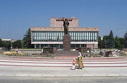 Statue i Naltjik over Maria Temrjukovna, som var Ivan den frygteliges hustru.