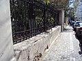 Ограда с калиткой и двумя воротами Костел 02.JPG