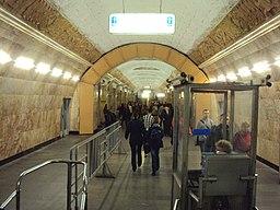 Станция Московского метрополитена Горьковско-Замоскворецкой линии Новокузнецкая 02
