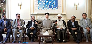 Council for Coordinating the Reforms Front - A meeting with Mohammad Khatami