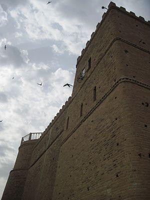Shush Castle - Image: قلعه شوش 01